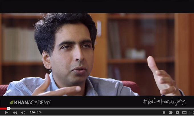 Khan academy you can do anything