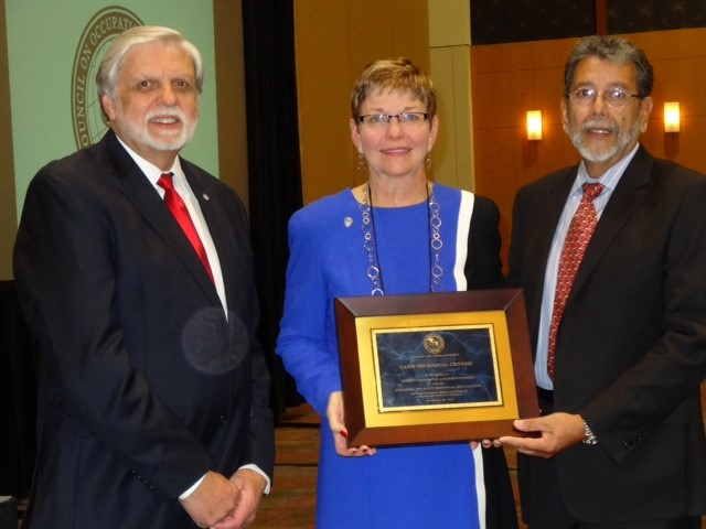 Dr. Gary Puckett, Executive Director/President of COE - Dr. Diane Culpepper, Director of Lake Technical College - Al Salazar, Chair of the Commission