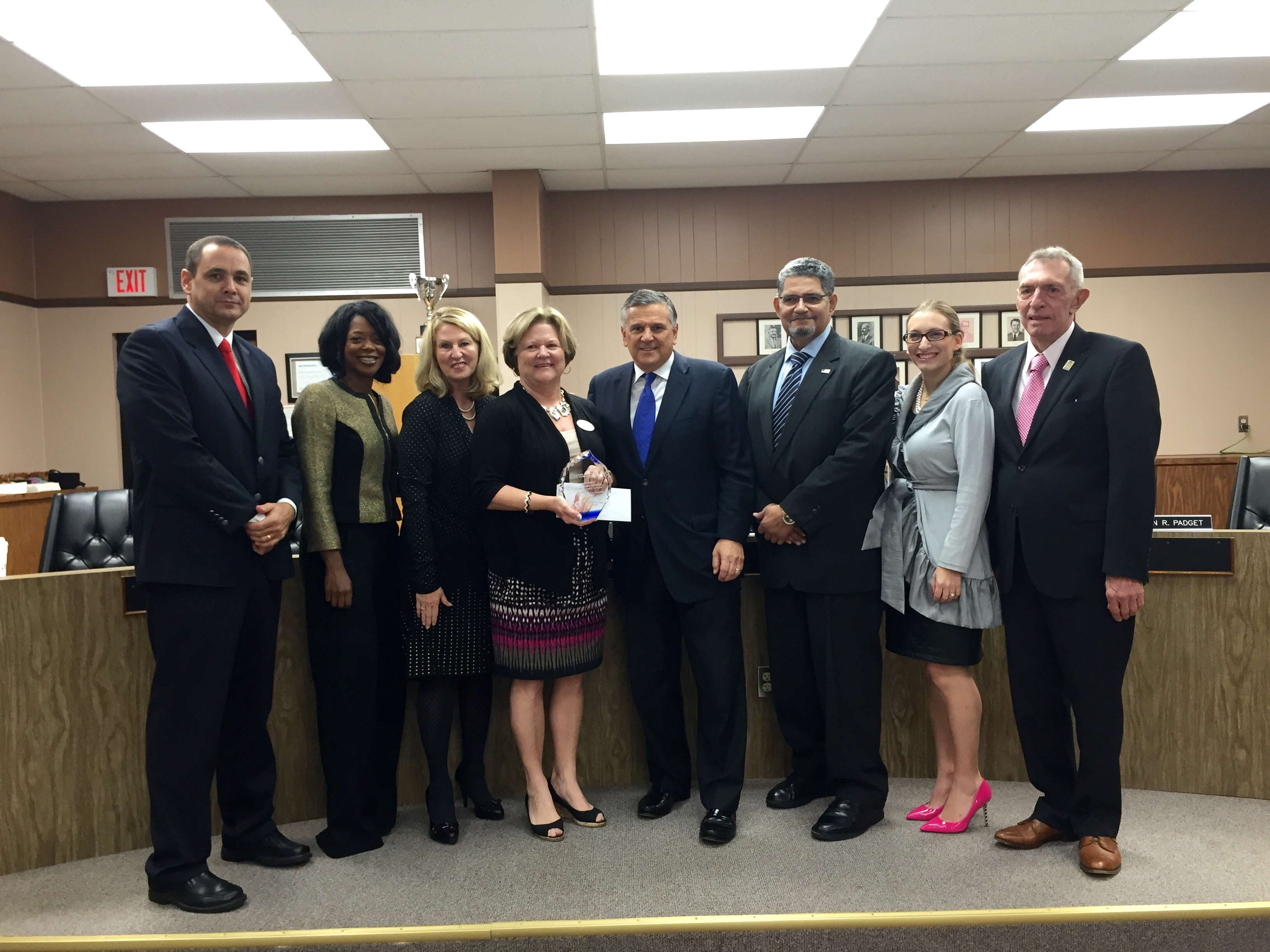 Superintendent Himmel was selected as the 2014 Lavan Dukes District Data Leader of the Year based on the accomplishments Citrus County has made through her leadership over the past 10 years.