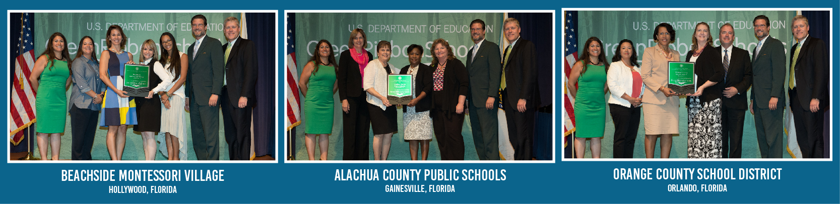 2016 - Fifth Annual Green Ribbon Schools Recognition