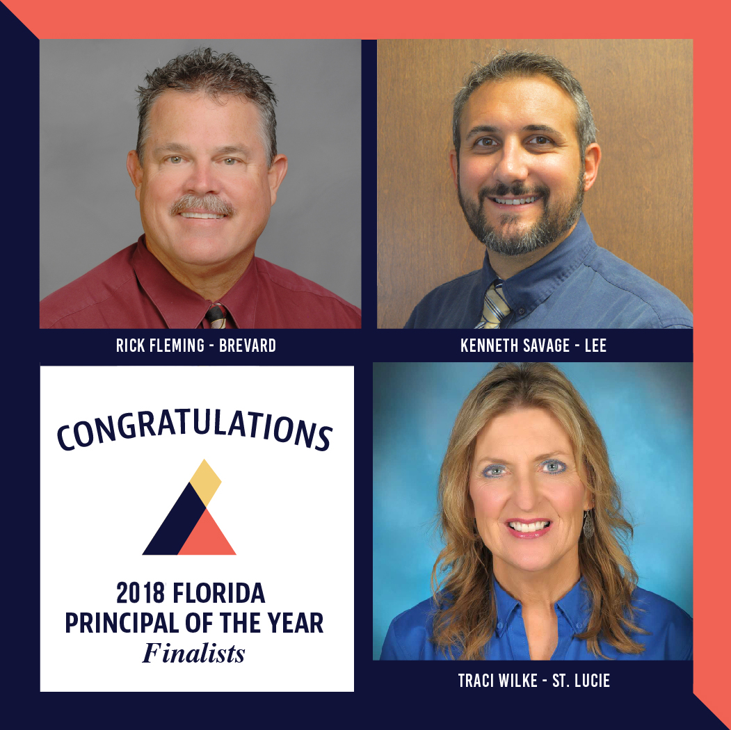 Principal achievement award for outstanding leadership progr 2017 2018 florida principal of the year finalists 1betcityfo Image collections